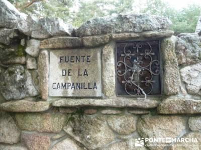 Nacimiento del río Manzanares desde La Barranca - Fuente de la Campanilla; senderismo irati
